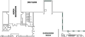 The Lodges at Deer Valley Third Floor Floor Plan