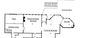 Snow Park Second Floor Floor Plan