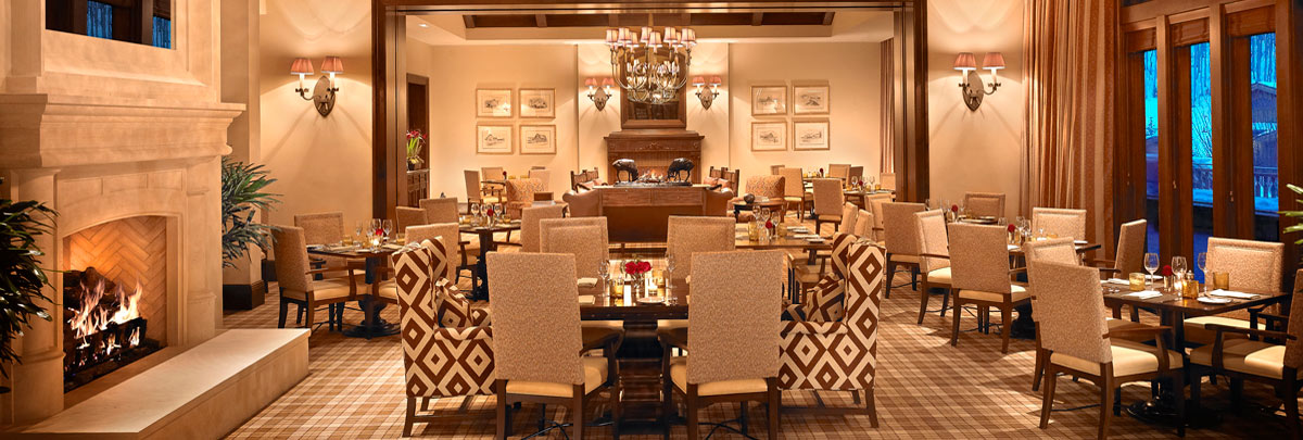 The Apex Dining Room at Montage Deer Valley