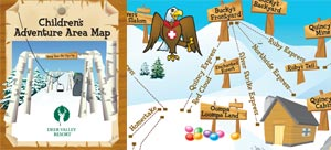 Childrens Adventure Area Map Image