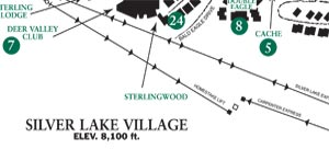 Image of the Silver Lake Village Area Map
