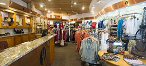 Inside of Deer Valley Signatures Store on Main Street