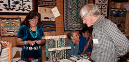 Adopt a Native Elder Annual Navajo Rug Show and Sale