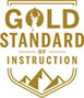 Deer Valley's Gold Standard of Ski Instruction Logo
