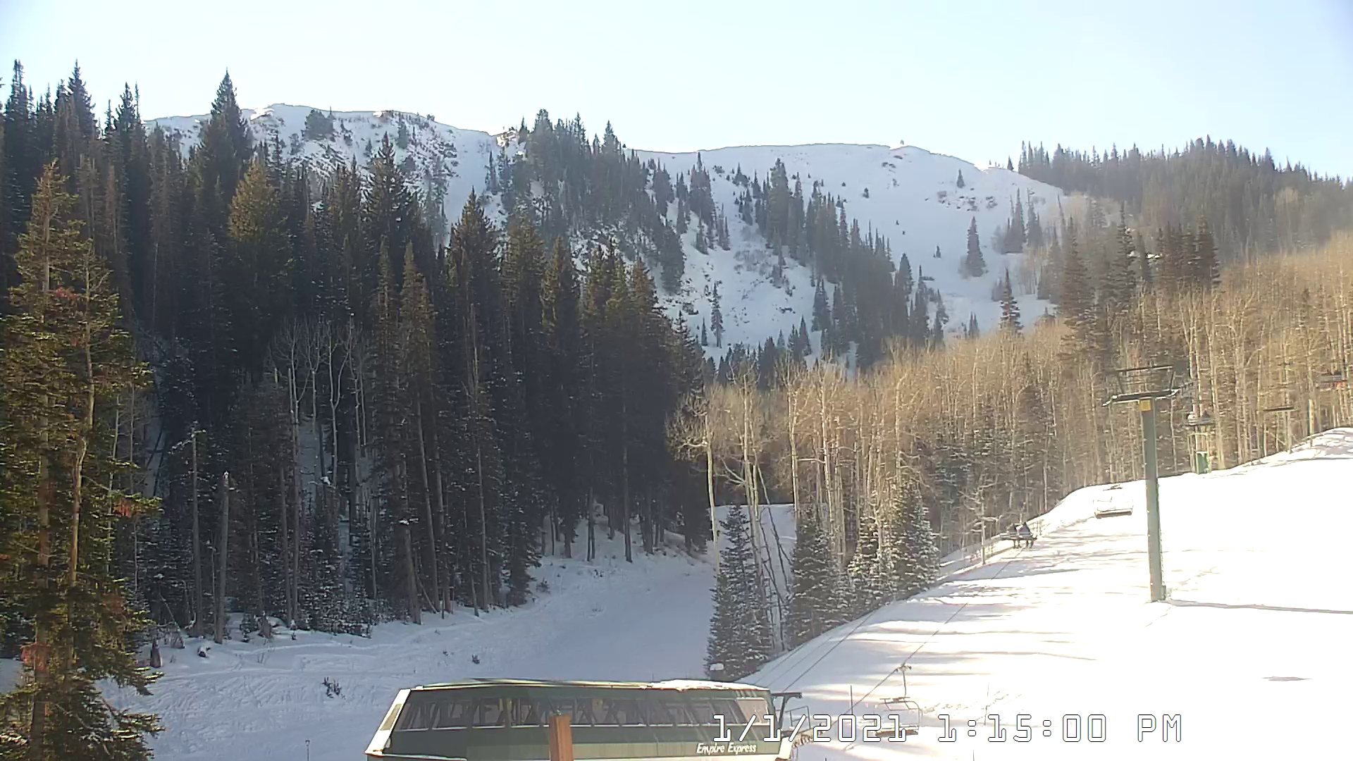 Empire Canyon Lodge Webcam Image